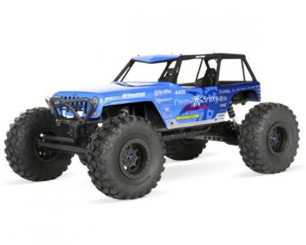 AX90031  Axial Jeep Wrangler Wraith-Poison Spyder 1/10th Scale Electric 4WD RTR Rock Racer